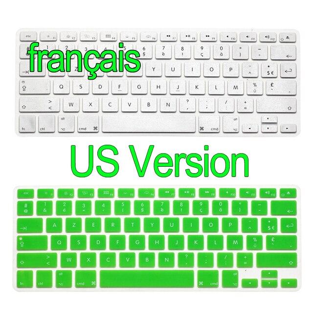 Versão DOS EUA Teclado Francês Adesivos Retina Air 13 15 17 Pro polegadas  Gradiente Euro Layout b20c2dc589