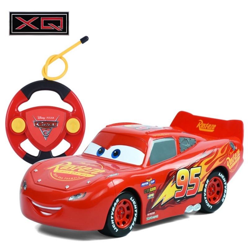 Disney remote control toys Lightning McQueen Remote Control Car Sports Car Model Toy 22CM Children's Electric Remote Control Car