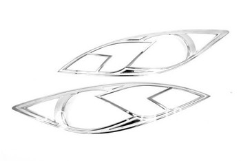 Car Styling Chrome Head Light Cover For Mazda 6 / Atenza 2009-2012