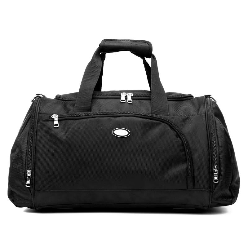 Mrs win 27L Capacity men travel bags/ euro and us style duffle bag men/ travel bag for men Multifunctional travelling bag/black