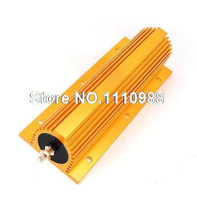 цена на 500W Power 10 Ohm Screw Tap Mounted Aluminum Housed Wirewound Resistor