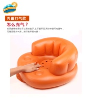 inflatable baby sofa baby dinner chair children dining chair portable safe bath chair stool