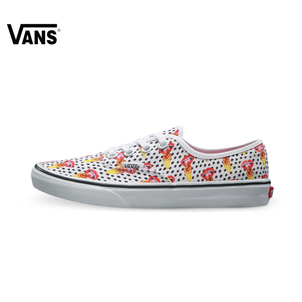 Original Vans New Arrival Low-Top Women's Light Weight Skateboarding Shoes Sport Shoes Canvas Shoes Sneakers free shipping цена