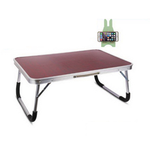 250305/Anti-foam feet/Portable handle/Home bed with simple desk /Folding mobile small desk/Lazy bedside laptop desk /