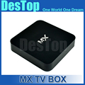 MX2 Android Tv Box XBMC tv AMLogic 8726 MX Dual Core Smart TV Caja Androide 4.2.2 Medianoche Películas Libres de Carga 100 unids