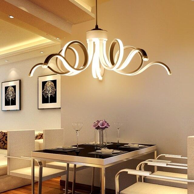 Led Moderna Illuminazione Lampadario Per sala da pranzo soggiorno ...