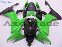Motorcycle Fairing Kit For Kawasaki ZX10R ZX 10R 2008 2009 2010 08 09 10 Fairings kit High Quality ABS Plastic Green Black