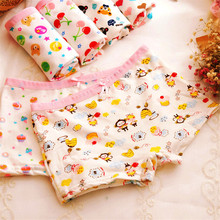 Girl Panties Briefs Children Underwear Cotton Cartoon Flat for 2-8Y 8pcs/Lot Printing