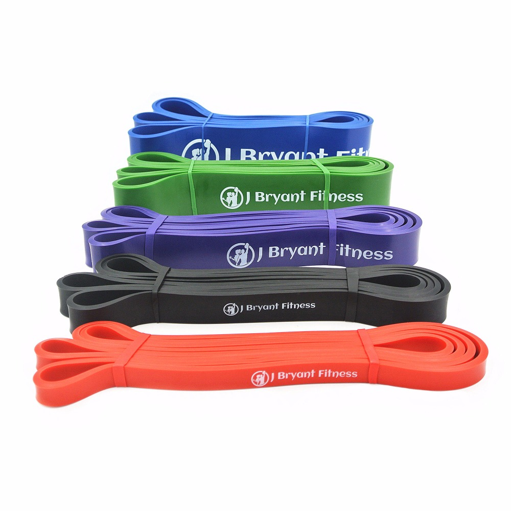 Set of Power Resistance Bands Natural Latex Athletic Rubber Assisted Pull Up Band Crossfit Heavy Duty Powerlifting Bands