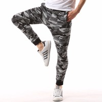 2017 Summer Hot Sale Lightweight Casual Camouflage Brand Clothing Cotton Male Fashion Army Nosing Feet Sweatpants