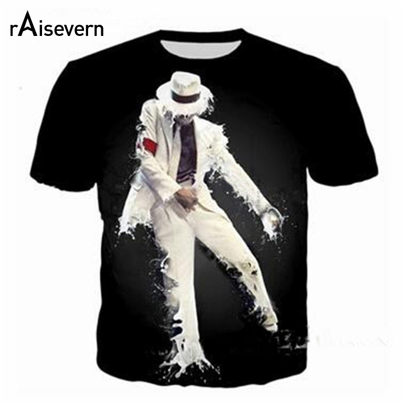 2f85b221b907 Detail Feedback Questions about Raisevern New Arrival Michael Jackson 3D  Print T Shirt Men Women Hip Hop Funny Tee Tops Harajuku Tshirt Streetwear  Tops ...