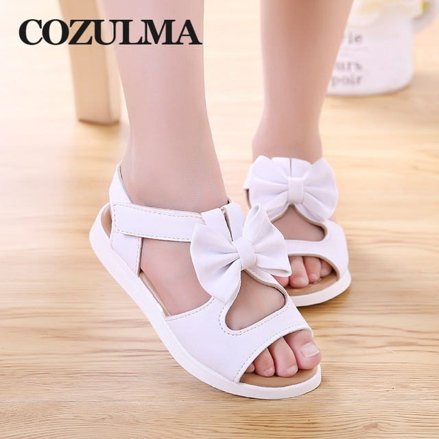 COZULMA Girls Summer Shoes Kids Sandals for Girls for 1-14 Years
