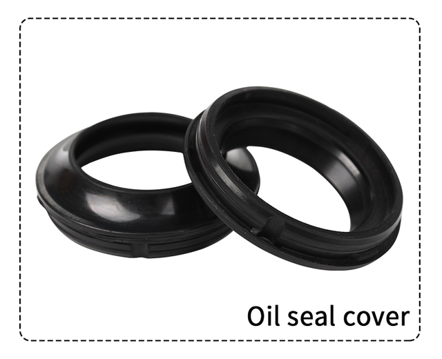 Dust Seals Fork Oil Cover For Honda XR250R VT750C VT750C2 VT1100C2 VT750CA New