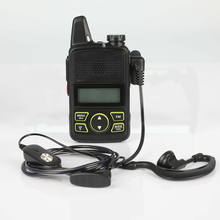 1pcs Baofeng BF-T1 mini children walkie-talkie UHF portable two-way radio FM function Ham USB HF transceiver