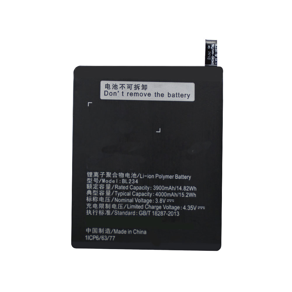 BL234 For Lenovo P70 P70t P70-T P1MA40 New High Capacity Replacement Battery 4000mAh Li-ion Rechargeable Batteries + Free TOOLS image