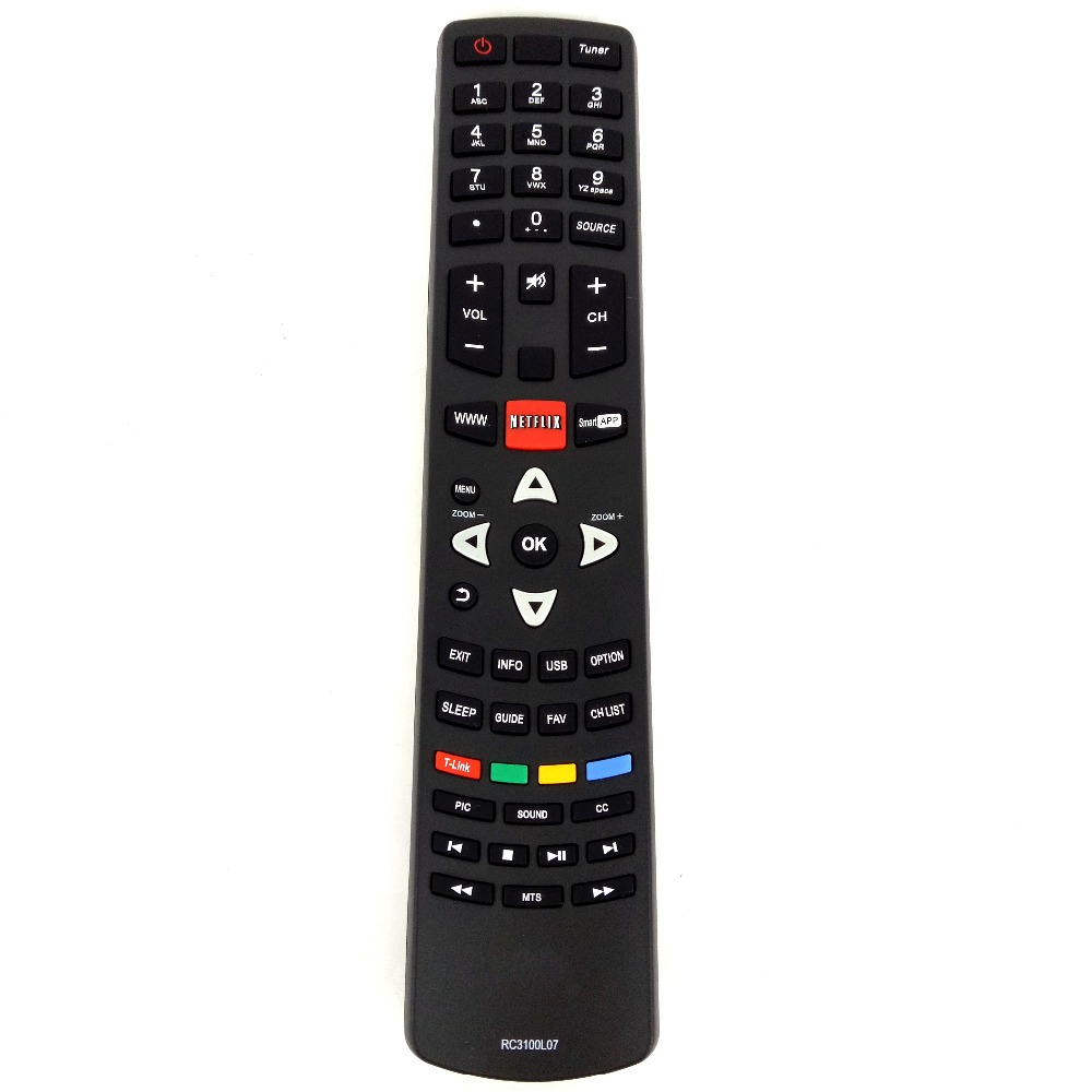 Hot sale NEW Original TV Remote Control suitable For TCL LED LCD TV RC3100L07 TV Fernbedienung Free shipping