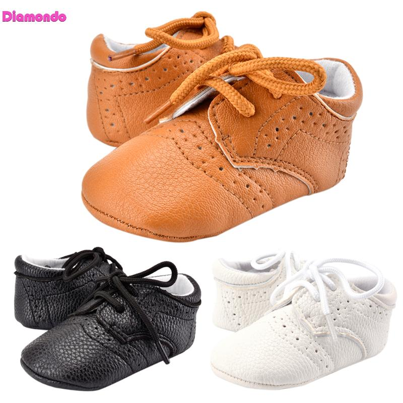 Fashion Baby Sneakers Infant Toddler Newborn Anti Slip First Walkers Unisex Boys Girls Soft Sole PU Leather Shoes Baby Moccasins