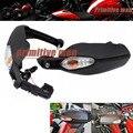 Para a DUCATI Hypermotard 820 2013-2015 Freio Da Embreagem Da Motocicleta Side Guiador HandGuard Protetor com Turn Signal Lâmpada Luz
