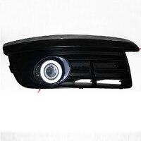 DRL angel eye ( 6 colors ) + projector lens + halogen fog lamp for volkswagen VW Jetta Sagitar golf 5 variant 2006 2010