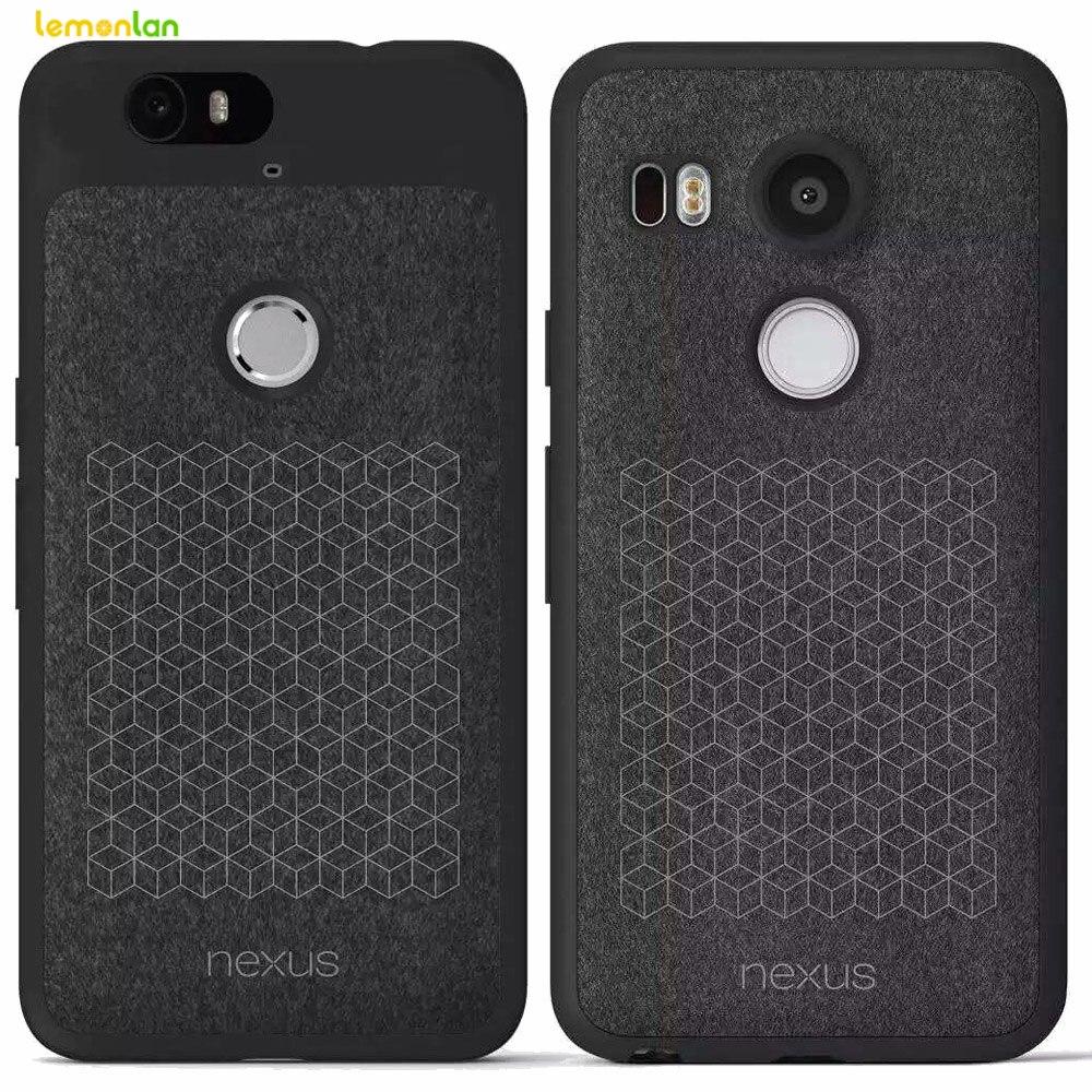 For LG Nexus 5X 6P Leather Original Case TPU Soft Back ...