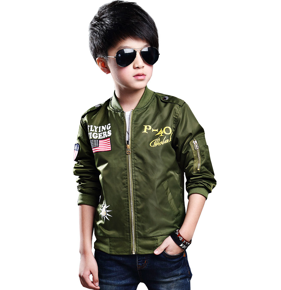 kids new 2017 spring and autumn boy jacket children s sports 3 16 years old long
