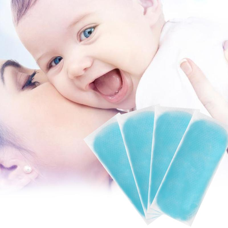 15Pcs Cooling Gel Patch Cold Fever Plaster For Baby Children/Adult Temperature Ice Instant Cooling Gel Patch Body Massager