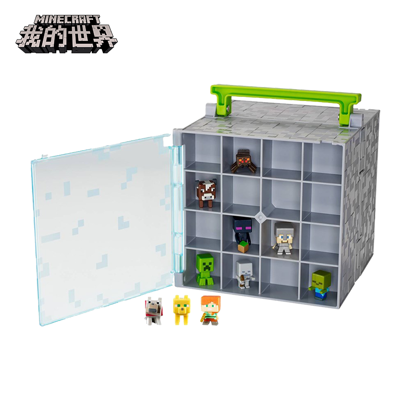 Minecraft Toy Figurine Around Enderman Man Creeper Doll Figures Model Collection Box pop figurine collection toy figure model doll