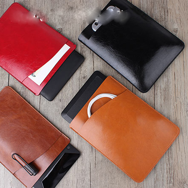 Leather Sleeve Pouch bag for Paperwhite 1 2 3 Ultra-thin Anti Dust Bag casFor Amazon kindle Oasis Protective Crazy horse Nappa