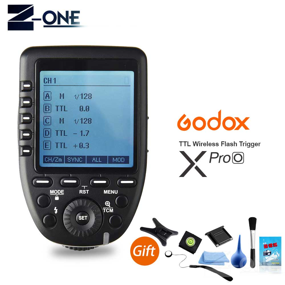 In Stock Godox XPro-O 2.4G TTL Wireless High Speed Sync 1/8000s Flash Transmitter X system Trigger for Olympus Panasonic