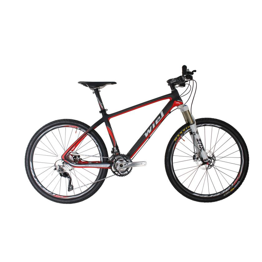 Bicycle Wiel W4 22 Speed Carbon Fiber Mtb Mountain Bike 26 Ultralight Bicycle Cycle Shimano M800o Derailleur System Fox Fork