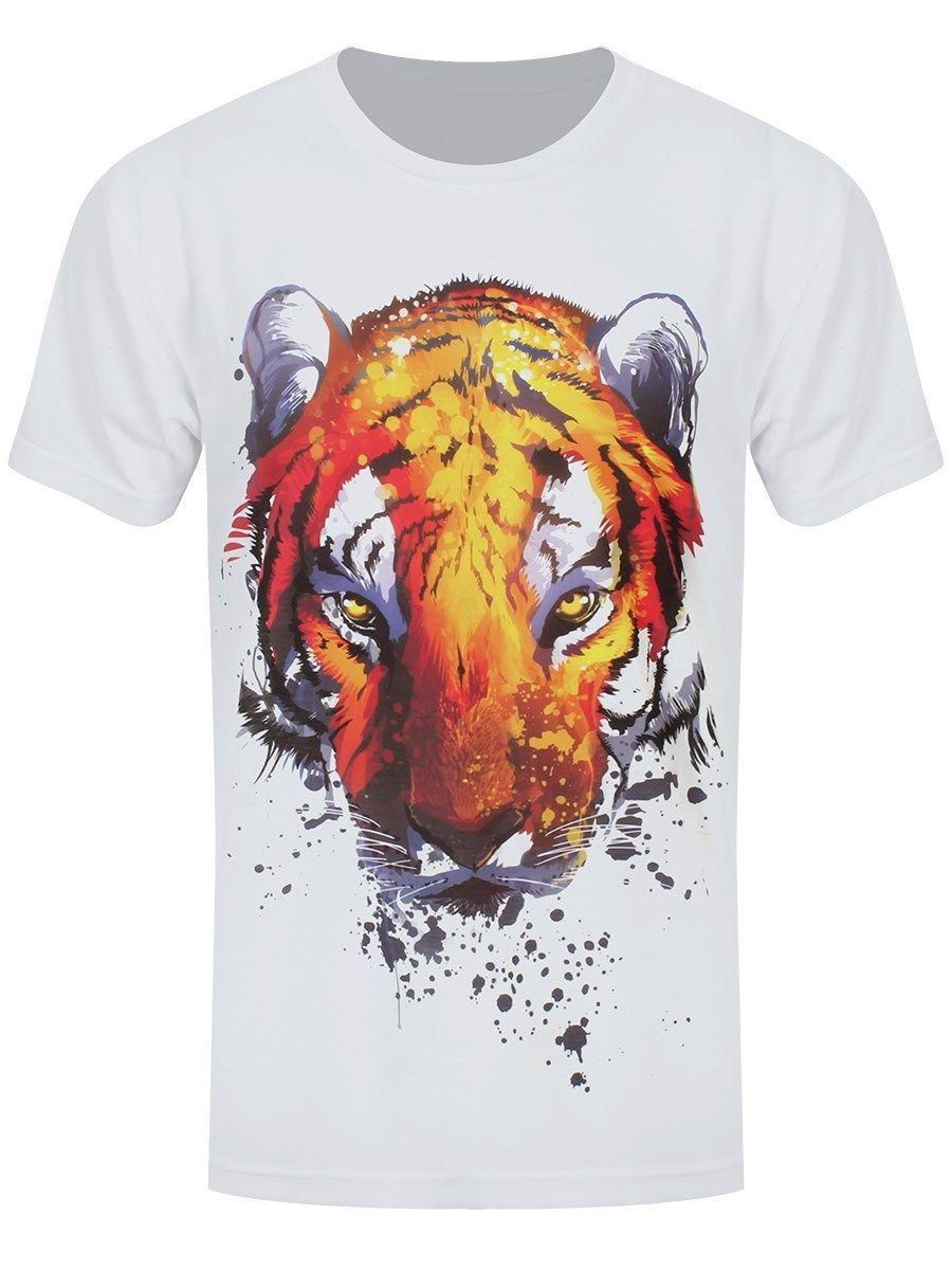 Unorthodox Burning Bright Mens White Sub T-shirt