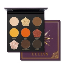 9color Matte Shimmer Eyeshadow Palette Waterproof Smudge-proof Long Lasting Easy To Color Eye Shadow