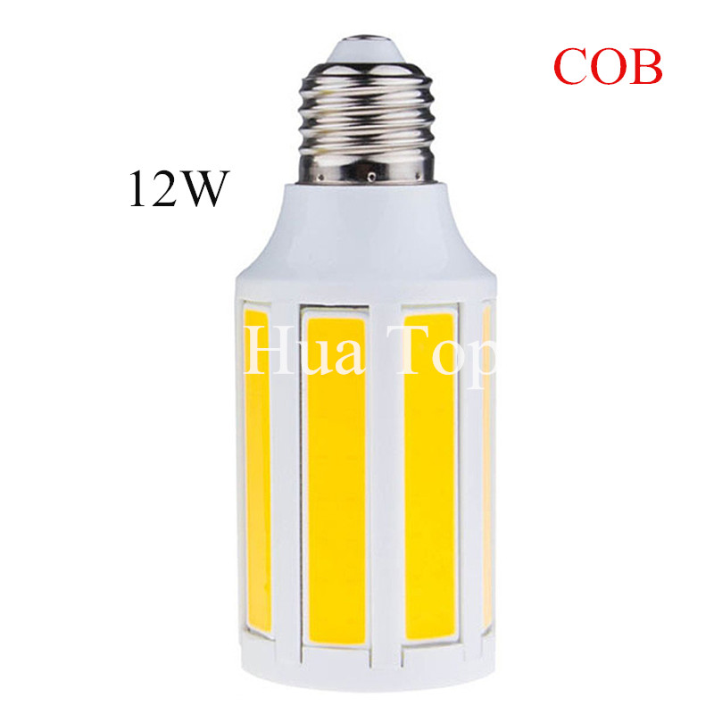 1Pcs COB led corn bulb 9W 12W Warm/White led light lamp E27 B22 E14 led cob light AC220V/AC110V indoor home high luminous lights e27 25w ac220v 240v 98pcs 5730smd warm white led corn light