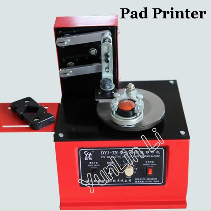 цена Pad Printer Date Printing Machine Ink Coding Printer Machine Disk DYJ-320