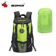 SCOYCO Multifunction Motorcycle Bag Motorcycle Helmet Backpack Motorcycle Travel Bag Hiking Bag Cycling Motorcycle Backpacks