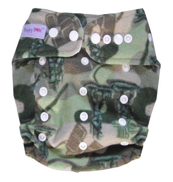 Акция настоящие Подгузники одежда в стиле унисекс подгузники оптом-моющиеся детские подгузники Подгузники 9 шт подгузники+ 9 шт вставки для 4-17 кг - Цвет: army