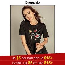 Dropship divertida T Shirt Camiseta De las mujeres mejor amigos camisas  Harajuku Camiseta Mujer Poleras De 38d899fd515