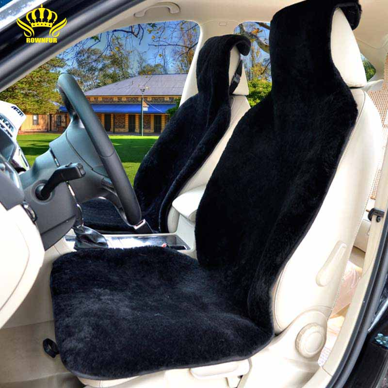 1pc for one front seatcar 5 colors super warm wool car cushion winter plush car pad seat covers. Black Bedroom Furniture Sets. Home Design Ideas