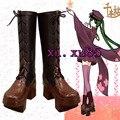Cutomize COS Vocaloid Miku Senbonzakura Cosplay Botas Accesorios Bonitos Zapatos de Cualquier Tamaño