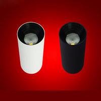 6PCS COB LED Downlight 10W/15W/20w Surface Mounted COB LED Ceiling Spot Light Round Panel Light Kitchen Bathroom clothes shop