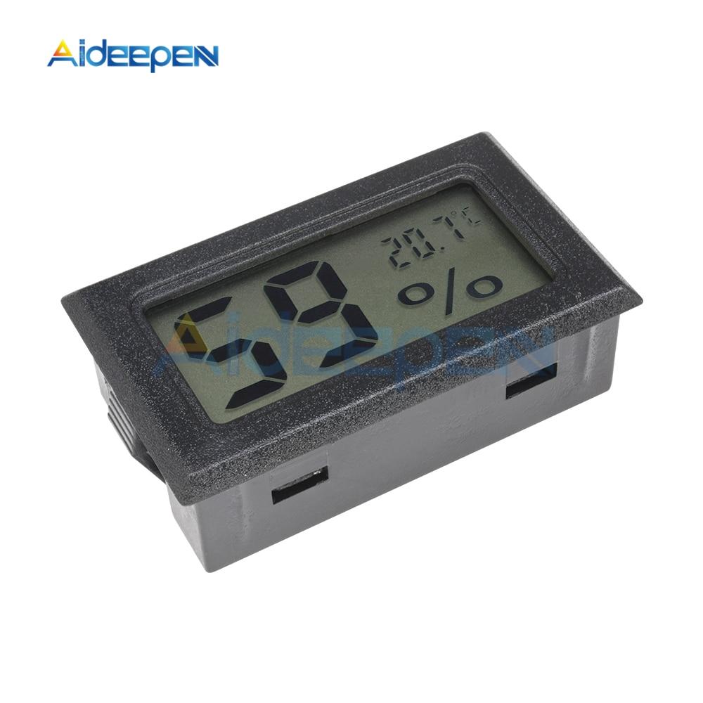 LCD Digital Thermometer Hygrometer for Freezer Refrigerator Fridge Temperature Sensor Humidity Meter Gauge Instruments Cable 15