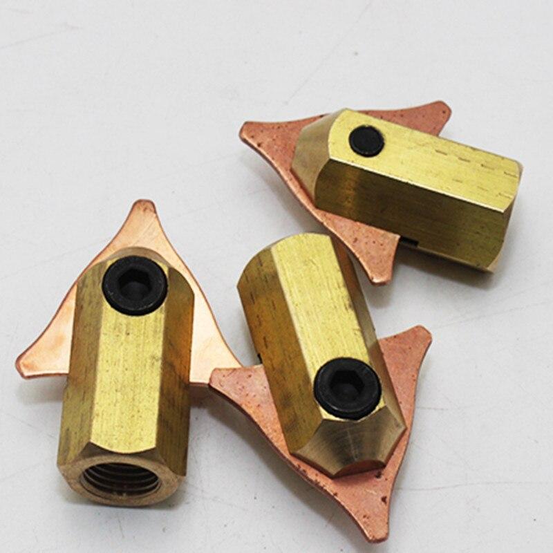 Dent Pulling Triangle Washers Holder Stud Welder Accessories Triangular Clamp