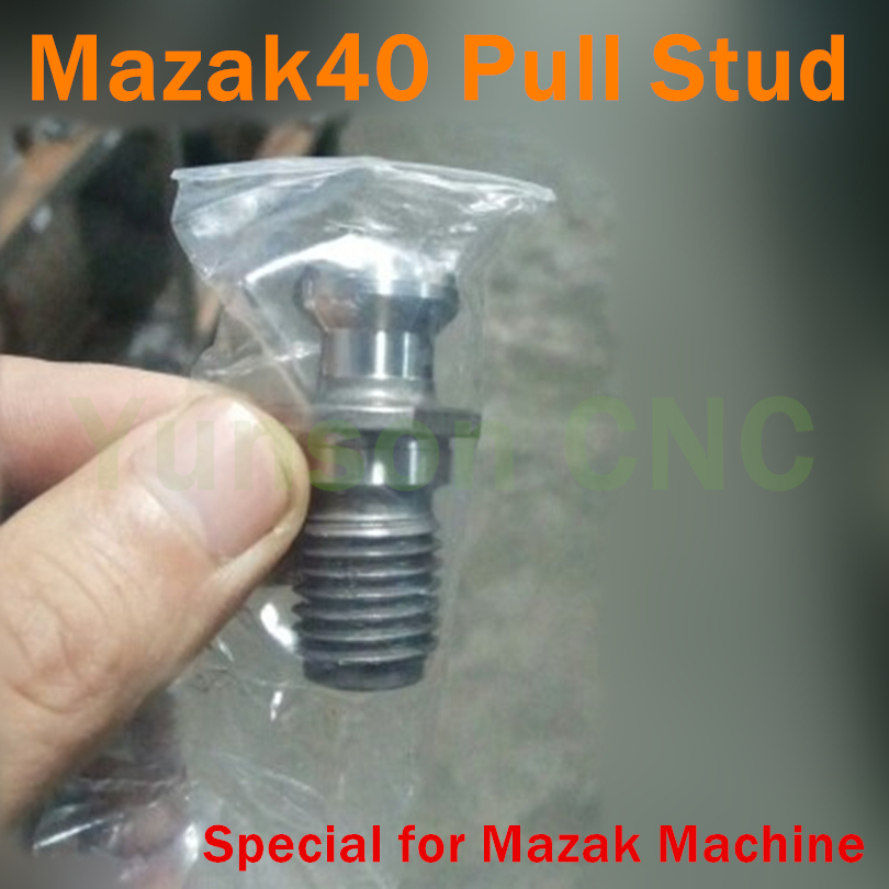 US $17 43 5% OFF|5pcs 45 degree Precision Mazak40 Pull Stud for Mazak  machine-in Woodworking Machinery Parts from Tools on Aliexpress com |  Alibaba