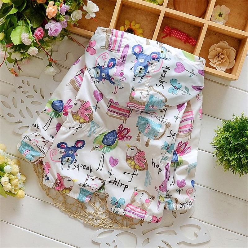 Frühling 2018 Neue Baumwolle Baby Mädchen Mantel Verbringen Drei - Kinderkleidung - Foto 2