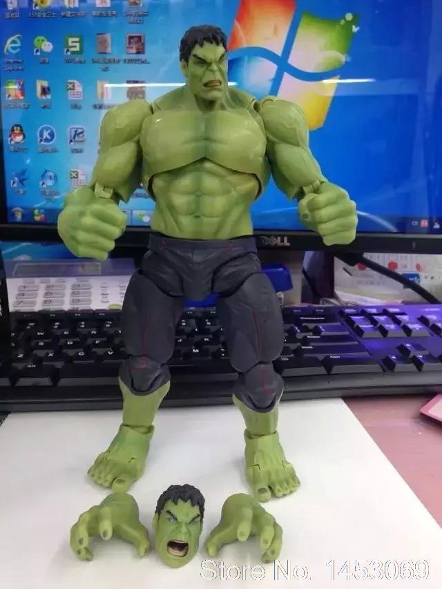 Avengers SHF S.H.Figuarts Hulk PVC Action Figure Collectible Model Toy 19cm KT1691 avengers movie hulk pvc action figures collectible toy 1230cm retail box