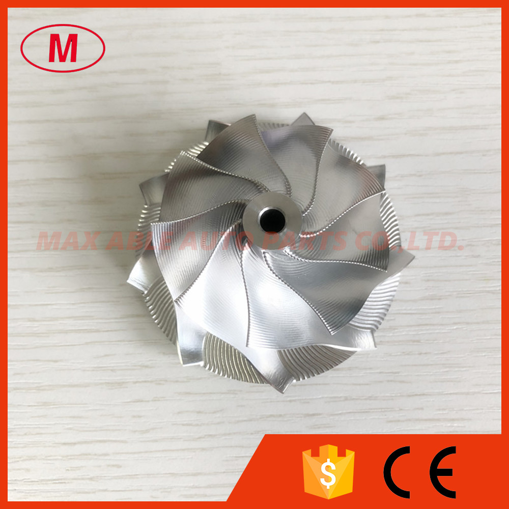 GT15-25 point milling 50.2065.00mm 9+0 Blades 702549-0008HF V1 high performance turbo billetaluminum 2618 compressor wheel