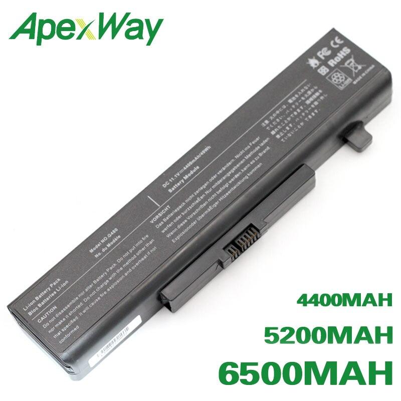 ApexWay Battery For Lenovo B480 B485 B490 B580 B585 B590 G405 G410 G480 G485 G500 G505 G510 G580 G585 G700 G710 N580 N581 N585