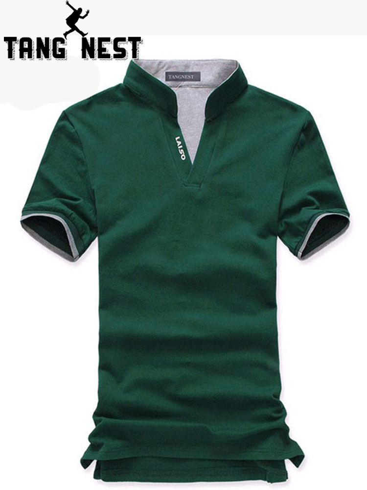 TANGNEST 2019 Hot-selling New Arrival No Profit Men   Polo   Summer   Polo   Men 6 Colors 5 Sizes Cotton Blend Shirt Male MTP095
