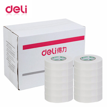 Deli 1pcs double-Sided EVA Sponge foam Tape 2.5*36mm*5y High Quality White Powerful Double Faced Adhesive sticky  30416