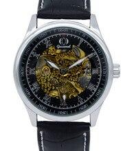 ГОРЯЧИЕ мужские часы топ люксовый бренд Gucamel спортивные военный автоматические механические наручные часы кожаный ремешок relogio masculino